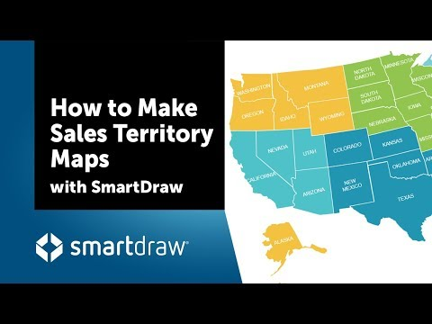 How to Make Sales Territory Maps with SmartDraw