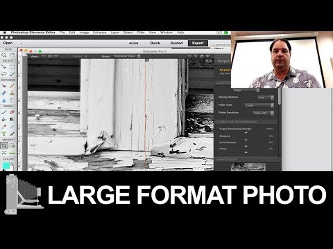 How to scan large format film