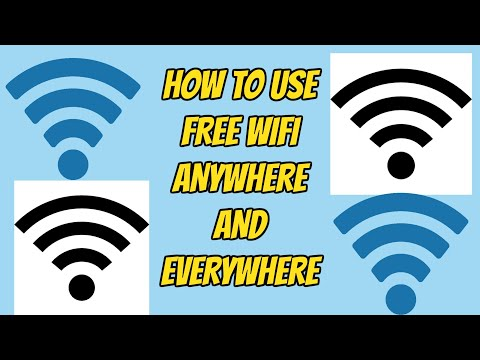 How to Use Someone's Wifi For Free No Password Required! - Use Free Internet AnyWhere in the World!