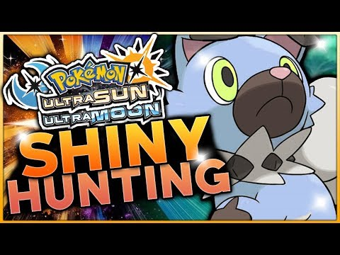 LIVE SOS SHINY ROCKRUFF HUNTING! Pokemon Ultra Sun and Ultra Moon Shiny Hunting