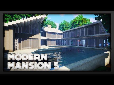 Minecraft - Modern Mansion 5