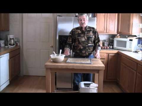 Making Potato Bark