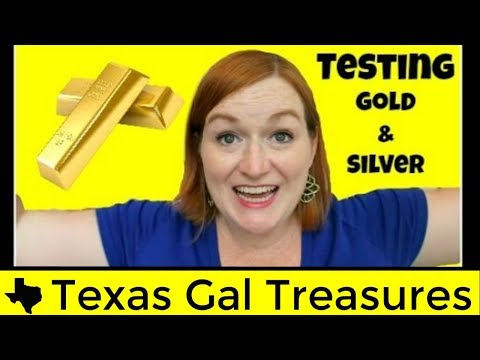 How To Test Gold and Silver Jewelry at Home With Acid Testing Kit - Real Gold Testing DIY Tutorial