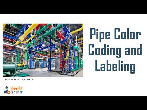 Pipeline Color Code Standard and Labels Charts -A Complete Guide