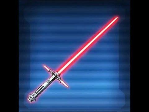 SWTOR: Defiant Vented Lightsaber