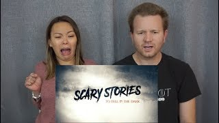 Scary Stories To Tell In The Dark Super Bowl TV Spots | Reaction & Review