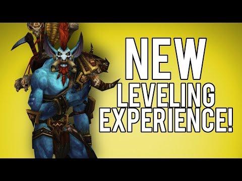 NEW LEVELING EXPERIENCE (Amazing!) - WoW Legion 7.3