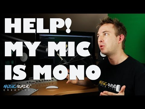 Help! My Microphone Is Only Recording Left Or Right Not Both