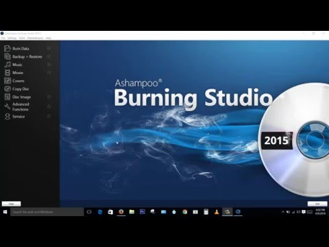 How to Burn PS2 game iso by using Ashampoo Burning Studio