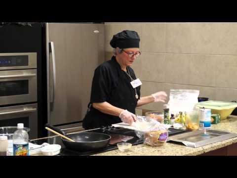 Recipe: Fruit, Cheese and Soft Greens Salad and Mascarpone Banana Pudding
