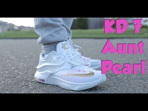 Nike KD 7 Aunt Pearl | On Feet