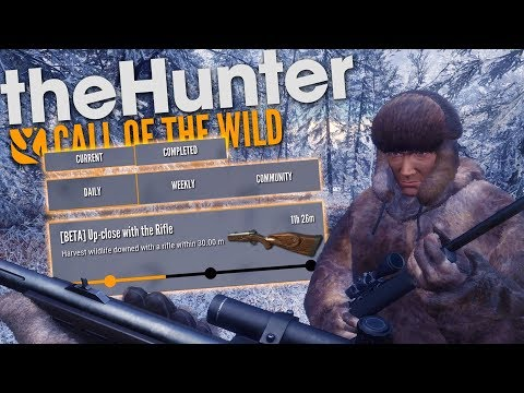 The Hunter Call Of The Wild | COMMUNITY CHALLENGE FOR NEW WEAPON!! (DLC)