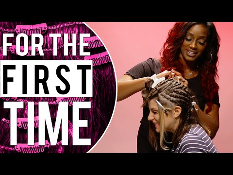 White Girls Get Weave 'For the First Time'