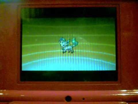 Pokemon Black and White 2: Evolving Eevee into Leafeon
