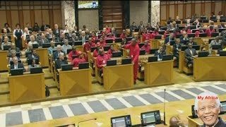 Julius Malema Shouting At Speaker Baleka Mbete