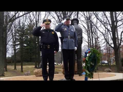 Booker Wreath Laying