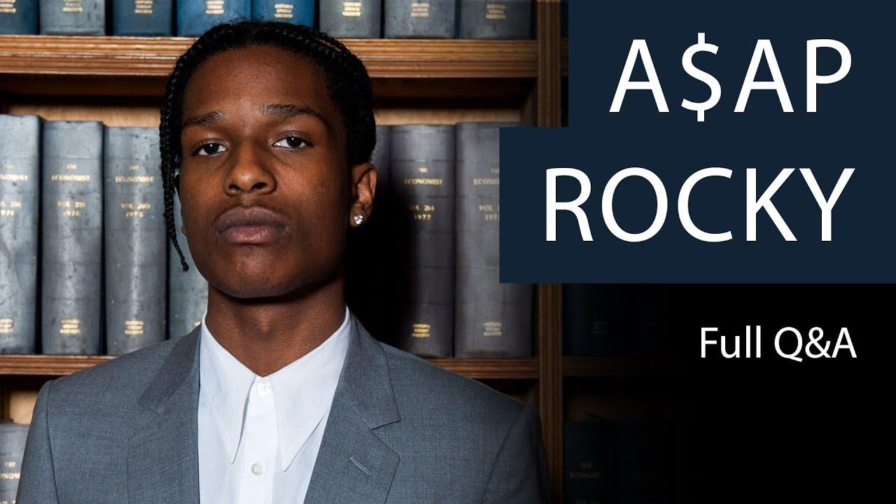A$AP Rocky | Full Q&A | Oxford Union