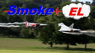Demonstration Flights Of Smoke El