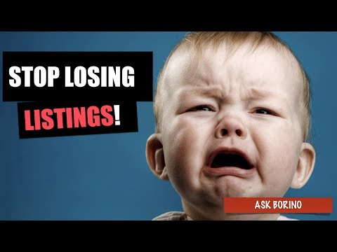 How To STOP LOSING LISTINGS - The Listing Conversion Formula For Real Estate Agents