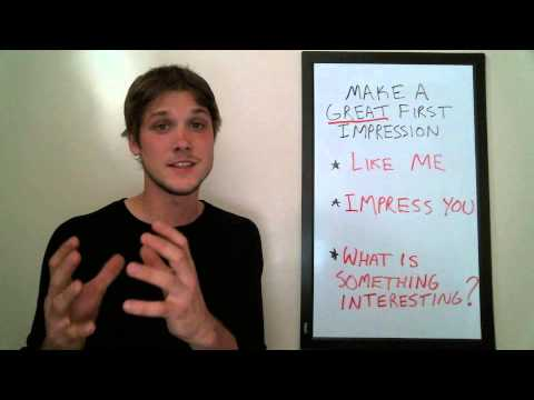Interpersonal Skills For YOU: How To Make A Good First Impression