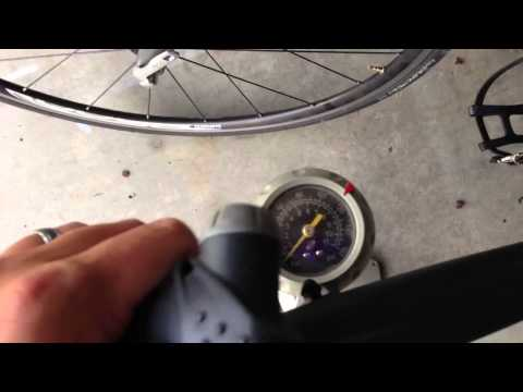 How to Inflate a Bicycle Tire