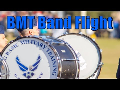 My Husband Is In The Air Force BMT Band Flight. What Does This Mean? [Military Spouse Guides]