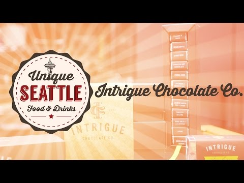 Unique Seattle Food - Intrigue Chocolate Co. - Delicious handcrafted truffles