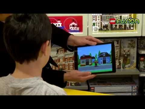 LEGO® FUSION - HOW DID HE DO THAT??? Unbelievable iPad Magic using LEGO bricks!