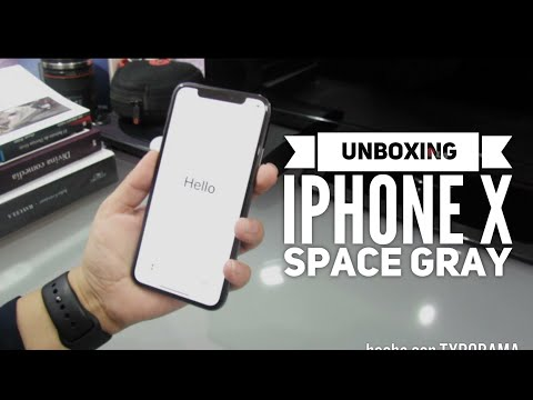 UNBOXING IPHONE X SPACE GRAY Y PRIMERAS IMPRESIONES.