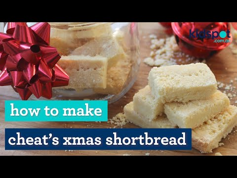 Easy recipe: How to make cheat's Christmas shortbread