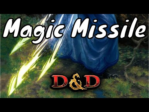 D&D Spell (5e): Magic Missile.