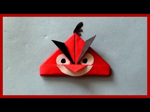 DIY Paper Angry Bird Making Tutorial | How to Make Easy & Simple Paper Crafts
