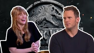 Chris Pratt & Bryce Dallas Howard FUNNY MOMENTS | Jurassic World 2