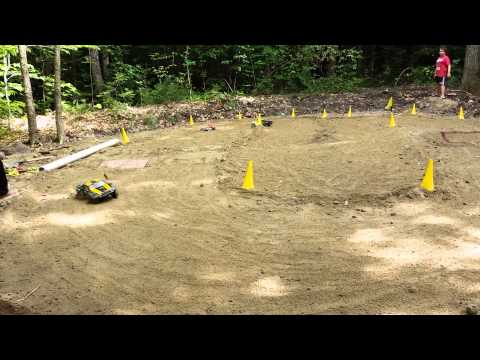 Kids Build Their Own RC Race Track in Maine