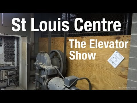 St Louis Centre Update (including Freight Elevator) - The Elevator Show