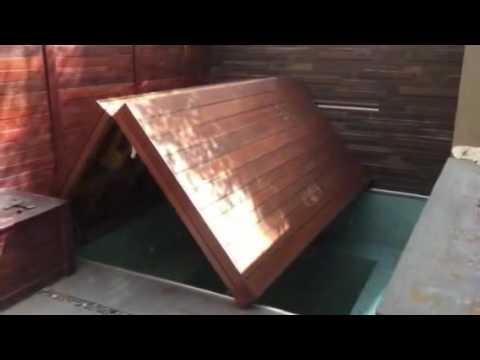 Bi-Folding Plunge Pool Deck