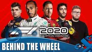 F1 2020 - Spa PS4 Gameplay with Racing Wheel