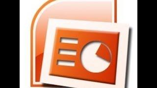 دورة التأثير بالجماهير باستخدام برنامج البوربوينت 2007-إدراج فيديو في شرائح البوربوينت