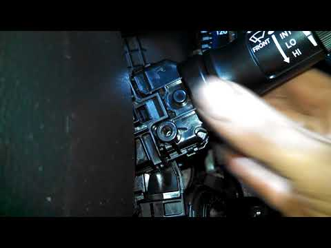Wiper switch replacement 2013 Hyundai Accent washer switch Install, remove or replace