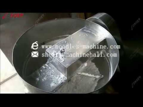 How To Use The Rice Noodle Machine Making Rice Noodle?