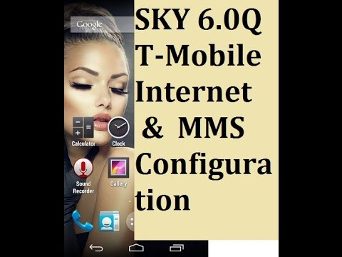 T-Mobile 4G LTE APN Settings for SKY 6.0Q and Others (Provided from TMobile)