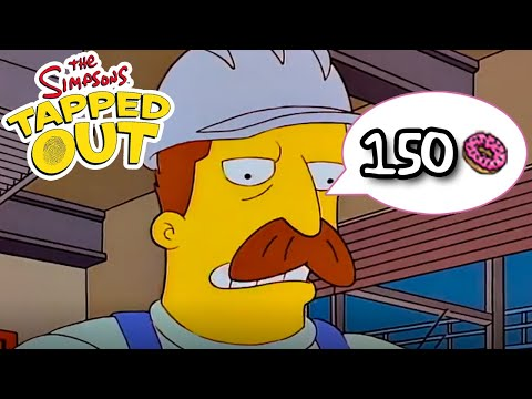 TSTO - Roscoe and Ajax Steel Mill - 150 donuts (Limited Time)