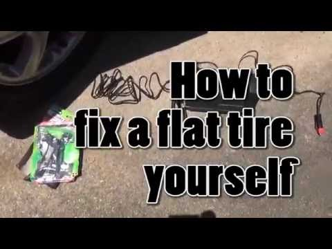 How to fix a flat yourself