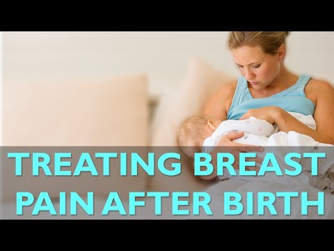 Treating Breast Pain After Birth | CloudMom