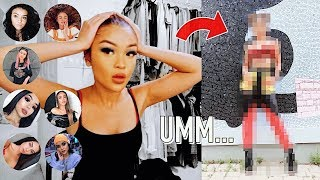 I LET YOUTUBERS PICK MY MAKEUP, HAIR & OUTFIT FOR THE DAY!
