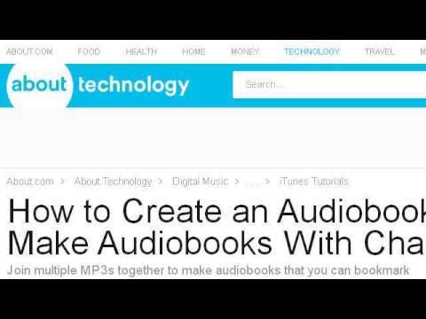 How-To Merge Audiobook Discs In Itunes