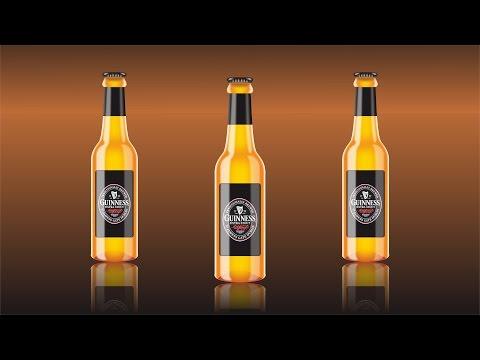 Realistic 3D Bottle Design - CorelDRAW Tutorial