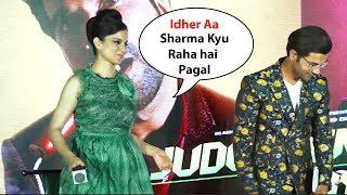 Kangna Ranaut Makes Fun Of Rajkumar Rao | Mental hai kya songs launch