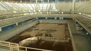 The Rio Olympics were only a year ago, but the venues look like they
