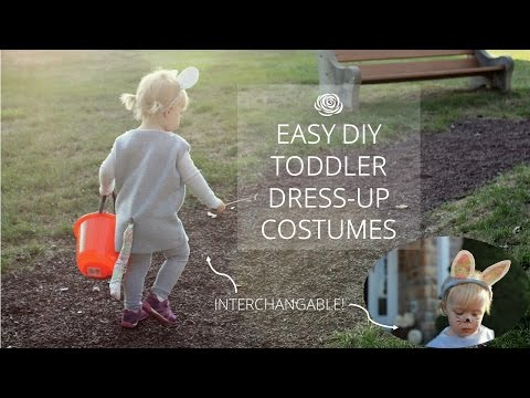Easy DIY Toddler Animal Dress-up Costumes | MAKE
